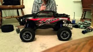 TRAXXAS XLX-MAXX/X-Maxx Current state and Upgrades.  I forgot to mention Axle boots