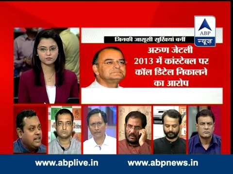 ABP News debate: What is truth of bugging reports at Gadkari house?