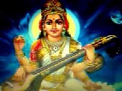 Saraswati namostuthe....amma song on Goddess Saraswathi