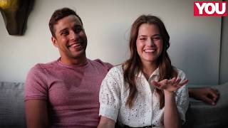 WATCH: Chad le Clos and his girlfriend Jeanni are too cute for words!