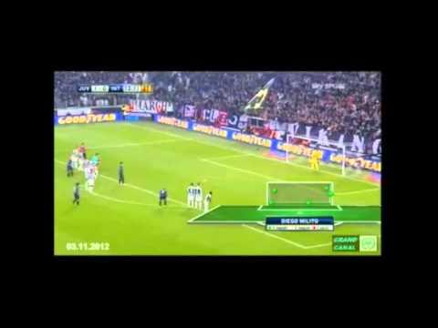 Juventus - Inter [1;3] - 3 Novembre 2012 - UNA FAVOLA NERAZZURRA