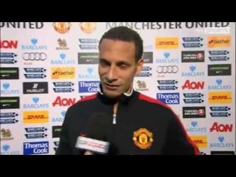 Rio Ferdinand Interview | Man Utd 2-0 QPR