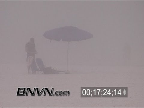 2/23/2006 Dense afternoon sea fog footage, Sarasota, FL