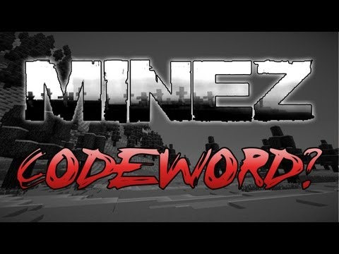 MineZ Survival - What's The Codeword? w/ Eric Fullerton