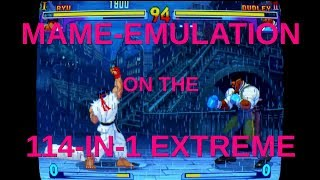 MAME on the 114-in-1 Extreme Plus (and Top 5 Games, English)
