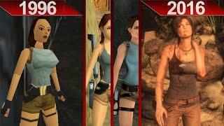 History of Tomb Raider Graphics | PC | ULTRA | 1996 - 2016