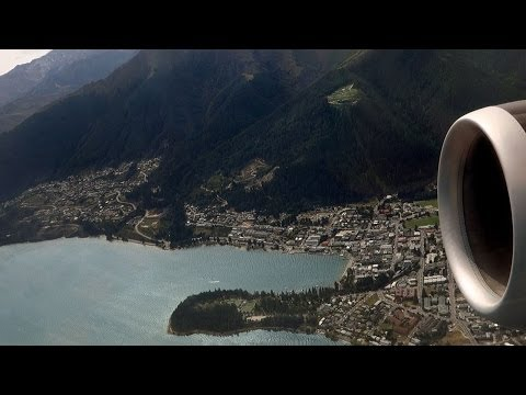 Remarkable Queenstown Airport Takeoff to Auckland