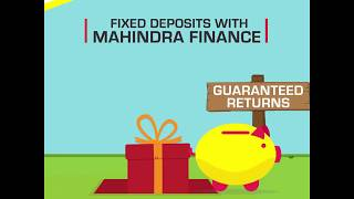 Mahindra Finance - Fixed Deposits (8.75% interest p.a.)