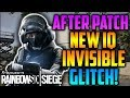 INSANE *NEW* IQ INVISIBLE GLITCH METHOD! (TUTORIAL) *AFTER PATCH*   Rainbow Six Siege