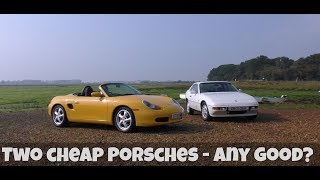 Bargain Porsches - 924s and Boxster, which should you buy?
