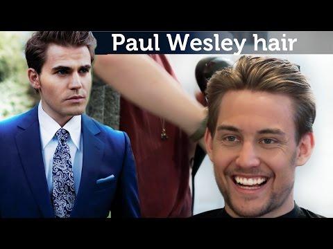 Paul Wesley Hairstyle   Awesome mens hairstyle   Slikhaar TV