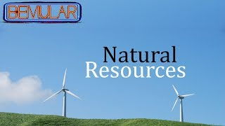 Bemular - Natural Resources (Educational Kids Music & Video)