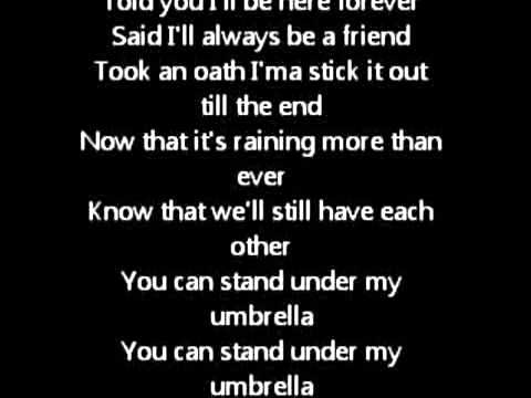 Rihanna - Umbrella Ft.Jay-Z LYRICS Original
