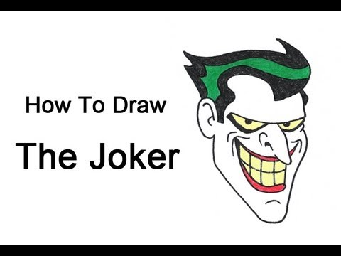 How To Draw The Joker (batman: The Animated Series) video