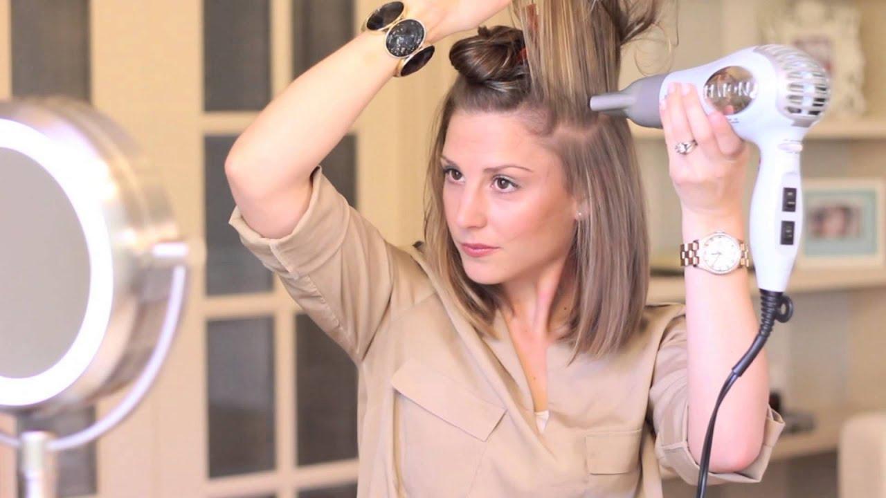 На средние волосы укладка в домашних условиях - Мой секрет