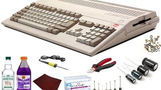 Amiga Serwis - Remont Amigi 500 Red Led Rev.5