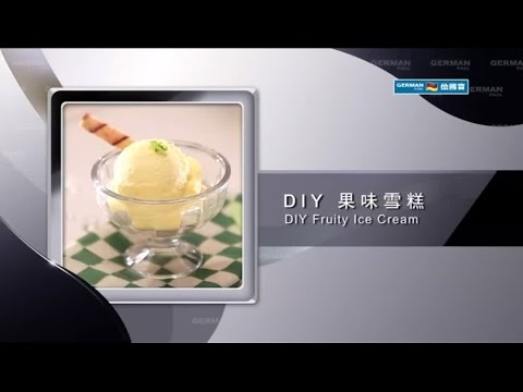 Food Processor Recipe: DIY Fruity Ice Cream