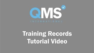 QMS Employee Training Tutorial Video