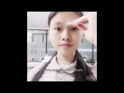 Shezi Brow Stamp for Korean Natural Best Eye brow Shape Eyebrow stamp demo review