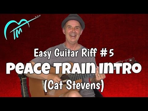 Must Know Acoustic Guitar Riff #5: Peace Train (Cat Stevens)