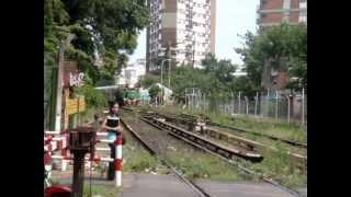 Ferrocentral 268 haciendo su paso por Villa Urquiza.