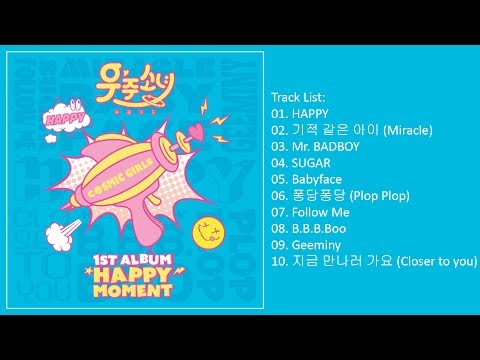 Download Full Album WJSN Cosmic Girls – HAPPY MOMENT Mp4 baru
