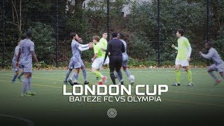 THEO RETURNS IN FIREY CUP GAME | LONDON CUP ROUND 3 | VS OLYMPIA FC