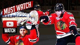 Throwback NHL: Patrick Kane 2015 NHL Playoffs All Goals. (HD)