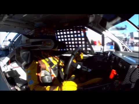 2010 NASCAR Texas Kyle Busch Flips Off NASCAR Official Uncensored (NSFW)
