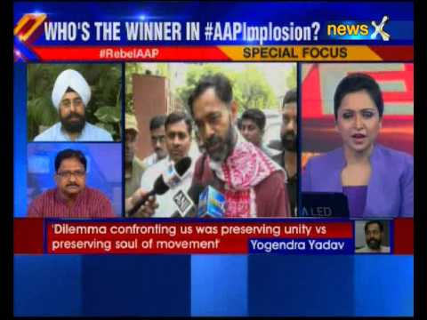 Yogendra Yadav terms Aam Aadmi Party's showcause notice a 'joke'