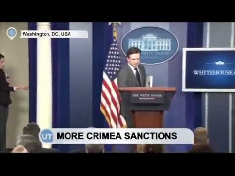 USA and Canada imposed tougher sanctions on Crimea occupied by Russia.