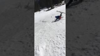 Ski fall - Stack of the day!