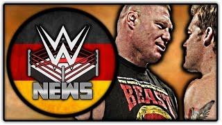 Chris Jericho legt sich Backstage mit Brock Lesnar an! + Ausfälle! (Wrestling News Deutsch/German)