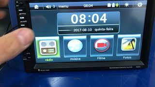 Central Multimidia 2Din Universal MP5/usb/sd/bluetooth/GPS