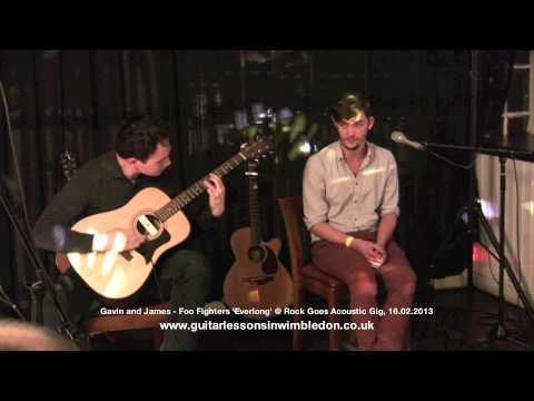 GregX TV: Gavin and James playing Foo Fighters 'Everlong' @ Rock Goes Acoustic