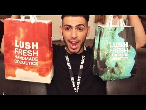 Gay Boy Loves His Lush Stuff | Massive Lush Haul | Salih's World video