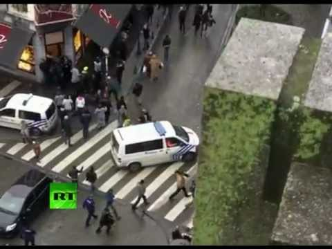 Belgium grenade attack: First video of Liege city center after tragedy