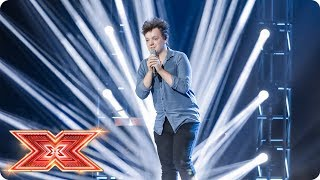 Benji Matthews goes for a seat with original song   Six Chair Challenge   The X Factor 2017