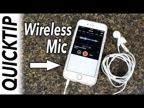 WIRELESS MIC ON A BUDGET - QUICKTIP