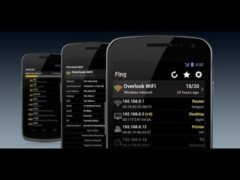 APLICACION FUNDAMENTAL PARA VERIFICAR INTRUSOS EN NUESTRO WIFI SMARTPHONE Y TABLET ANDROID.