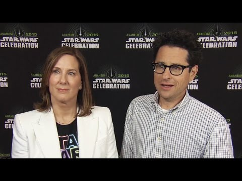 Kathleen Kennedy & J.J. Abrams Talks Star Wars Celebration Experience