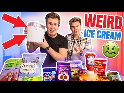 MAKING WEIRD FLAVOURS OF ICE CREAM WITH JACK MAYNARD