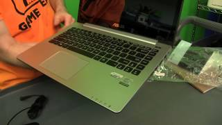 ASUS Vivobook Touchscreen Ultrabook Unboxing & First Look Linus Tech Tips