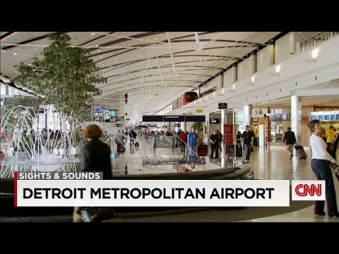 What to see and do at the Detroit Metropolitan Airport