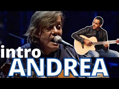 ANDREA - FABRIZIO DE ANDRE' - DIVERTIAMOCI CON LA CHITARRA