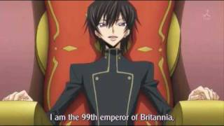 code geass lelouch become emperor