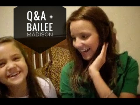 Q&A and Shout outs with Bailee!!