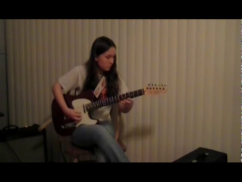 Clarence Gatemouth Brown Tribute by 14 year old Alicia