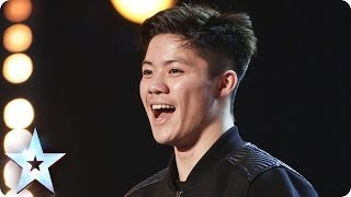 Body-popping Kieran Lai stuns the Judges with his moves | Britain's Got Talent 2014