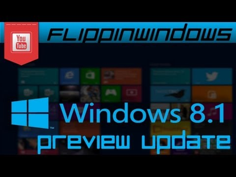 Windows 8.1 | Preview Update Download